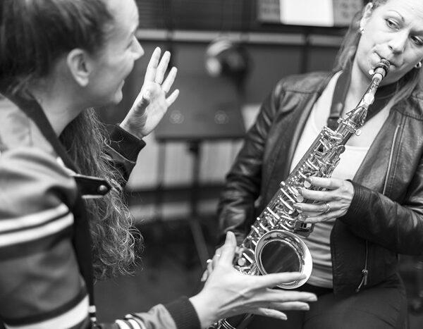 saxofoonles D-Joiz
